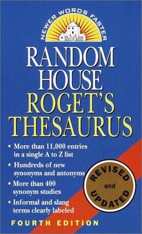 Random House Roget's Thesaurus 9780345447265