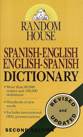 Random House Spanish-English/English-Spanish Dictionary 9780345405470
