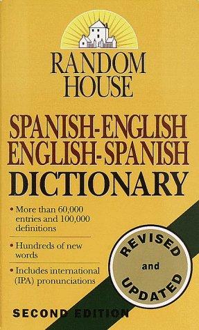 Random House Spanish-English/English-Spanish Dictionary