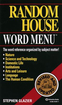 Random House Webster's Word Menu 9780345414410