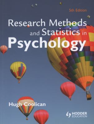 Research Methods and Statistics in Psychology 9780340983447