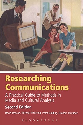 Researching Communications: A Practical Guide to Methods in Media and Cultural Analysis 9780340596852