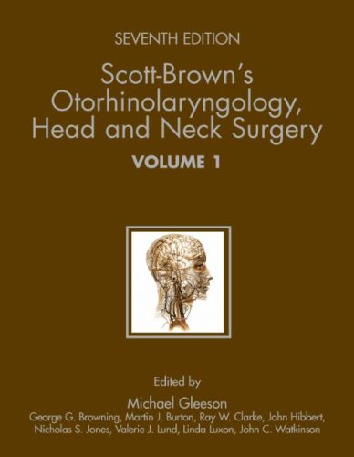Scott-Brown's Otorhinolaryngology (3 Volume Set): Head and Neck Surgery CD-ROM 9780340808931
