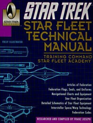 Star Trek Star Fleet Technical Manual 9780345340740