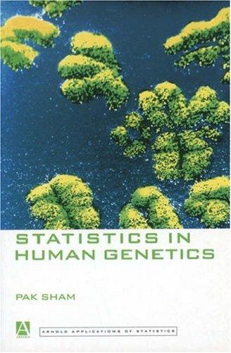 Statistics in Human Genetics 9780340662410