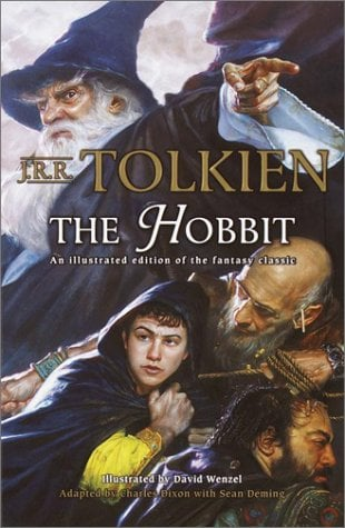 The Hobbit (Graphic Novel): An Illustrated Edition of the Fantasy Classic 9780345445605