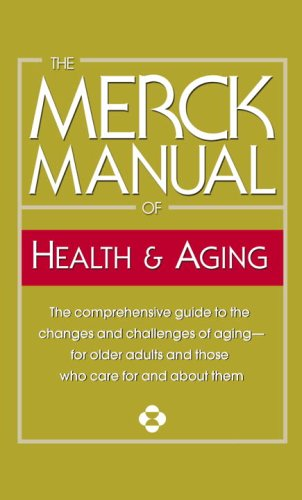 The Merck Manual of Health & Aging 9780345482754