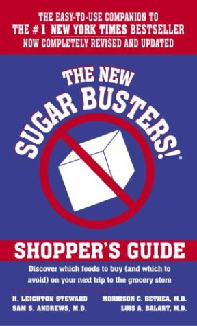 The New Sugar Busters!(r) Shopper's Guide 9780345459220