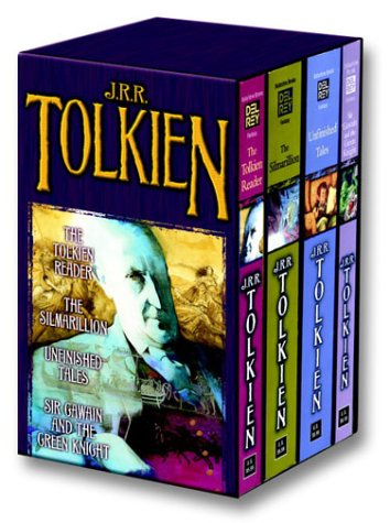 Tolkien Fantasy Tales 4C Box Set MM 9780345466464