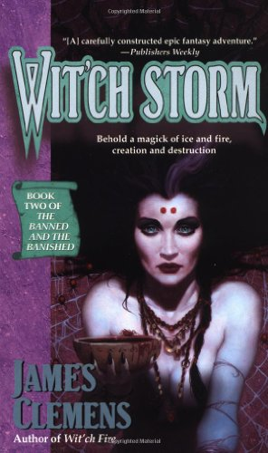 Wit'ch Storm: Book Two of the Banned and the Banished 9780345417084