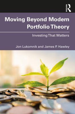 Moving Beyond Modern Portfolio Theory: Investing That Matters