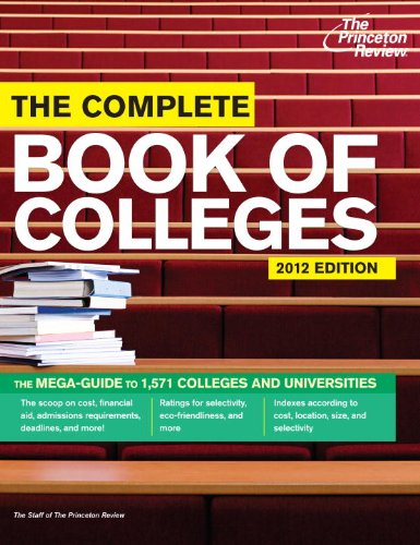 The Princeton Review: The Complete Book of Colleges 9780375427398