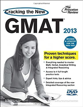 Cracking the New GMAT [With DVD] 9780375427473