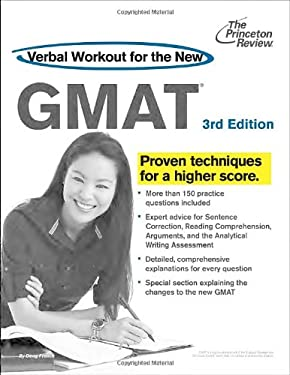Verbal Workout for the New GMAT 9780375427503