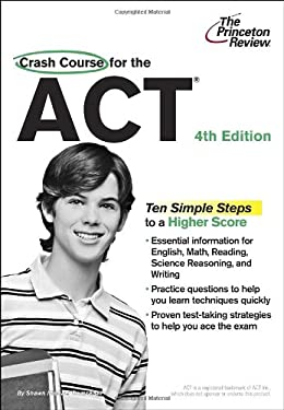 Crash Course for the ACT 9780375427626