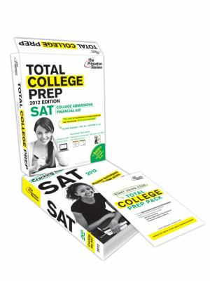 Total College Prep Pack: A $400 Value--Includes Princeton Review's SAT Online Course, Admissions & Financial Aid Seminars, SAT Prep Book & DVD 9780375427671