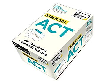 Essential ACT (Flashcards) 9780375428067