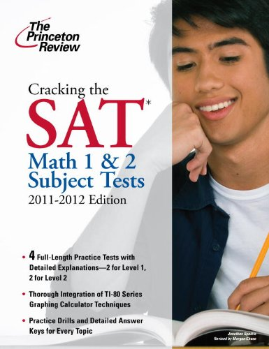 Princeton Review: Cracking the SAT Math 1 & 2 Subject Tests 9780375428128