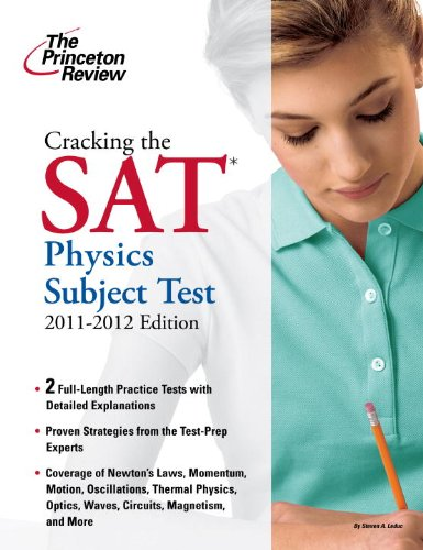 Cracking the SAT Physics Subject Test 9780375428135