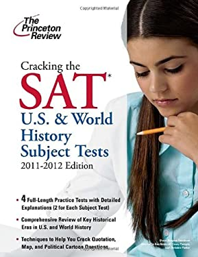 Cracking the SAT U.S. & World History Tests 9780375428166