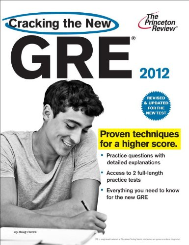 Cracking the New GRE 9780375428180