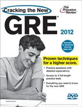 Cracking the New GRE [With DVD]