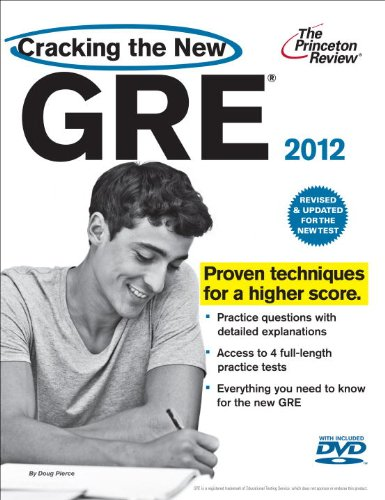 Cracking the New GRE [With DVD] 9780375428197