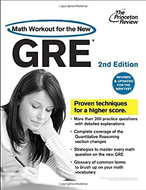 The Princeton Review: Math Workout for the New GRE 9780375428203