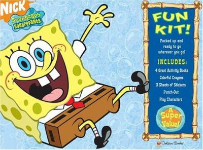 Spongebob Squarepants Fun Kit [With Three Sheets of Stickers and Crayons and Punch-Out(s)] 9780375833243