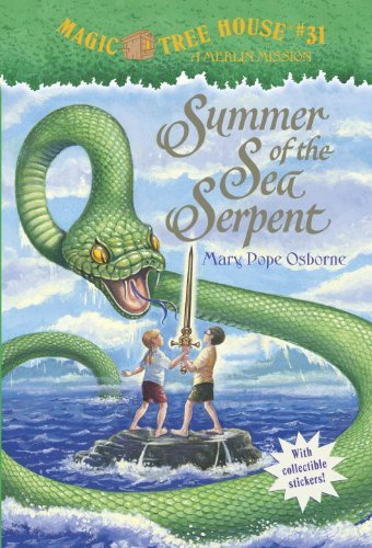Magic Tree House #31: Summer of the Sea Serpent 9780375864919