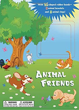 Animal Friends [With 16 Shaped Rubber Bands] 9780375871832