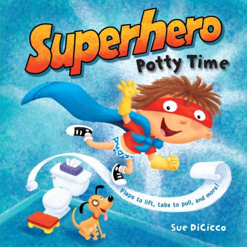 Superhero Potty Time 9780375872013