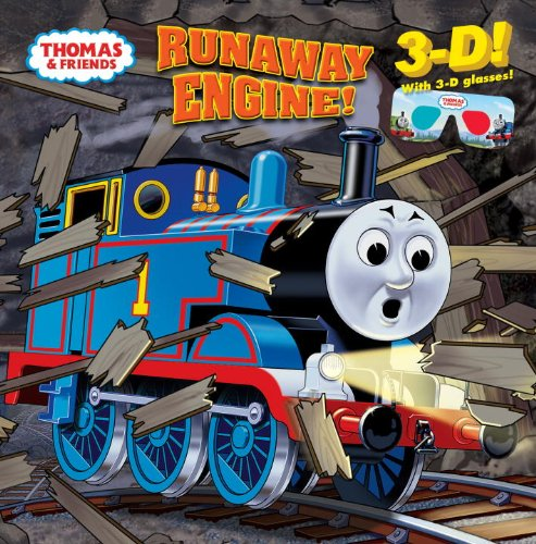 Runaway Engine! [With 3-D Glasses] 9780375872532