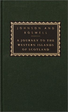 A Journey to the Western Islands of Scotland: With the Journal of a Tour to the Hebrides [With Ribbon Marker] 9780375414183