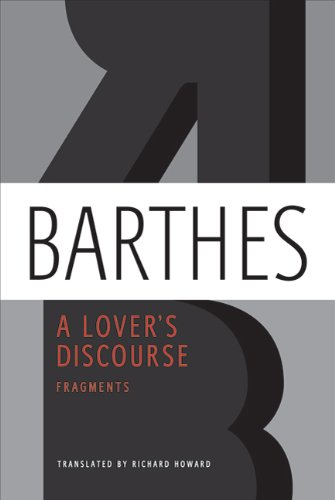 A Lover's Discourse: Fragments 9780374532314