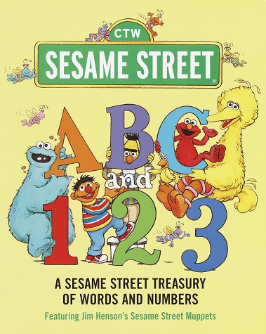 ABC and 1,2,3: A Sesame Street Treasury of Words and Numbers (Sesame Street) 9780375800429
