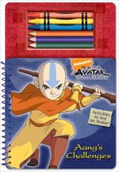 Aang's Challenges [With 3 CrayonsWith 3 Colored Pencils]