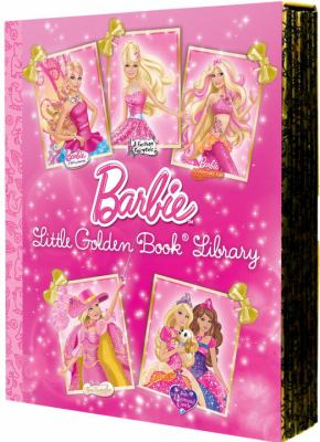 Barbie Little Golden Book Library 9780375871658