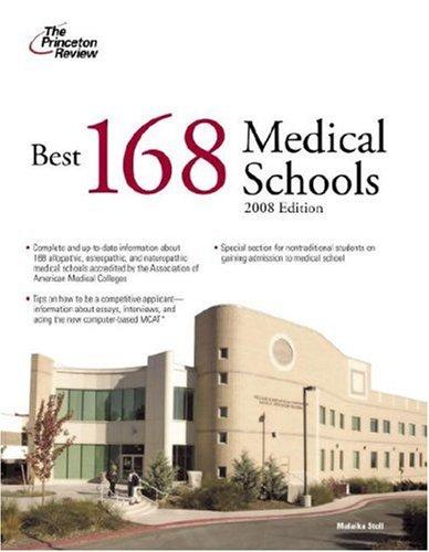 Best 168 Medical Schools 9780375766299