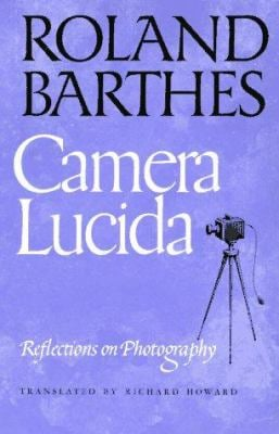 Camera Lucida: Reflections on Photography 9780374521349