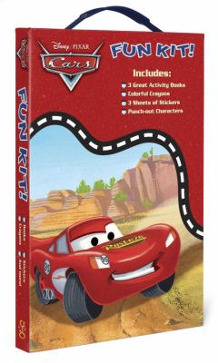 Cars Fun Kit [With 3 Great Activity Books and 3 Sheets of Stickers and Punch-Out Characters and Colorful Crayons 9780375852312