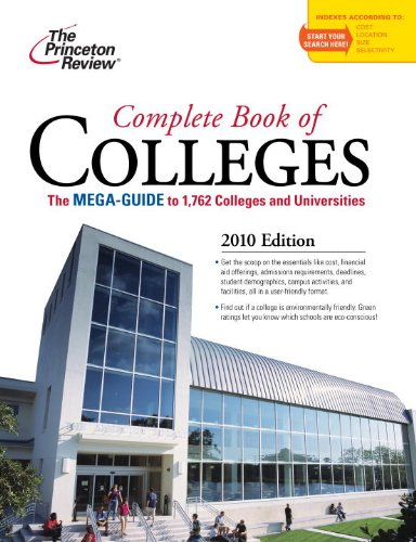 Complete Book of Colleges 9780375429408