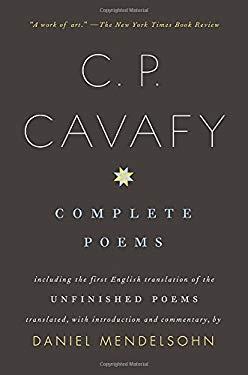 C. P. Cavafy: Complete Poems 9780375700897