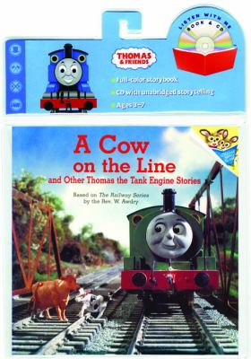 Cow on the Line Book & CD (Thomas & Friends) [With CD] 9780375834998