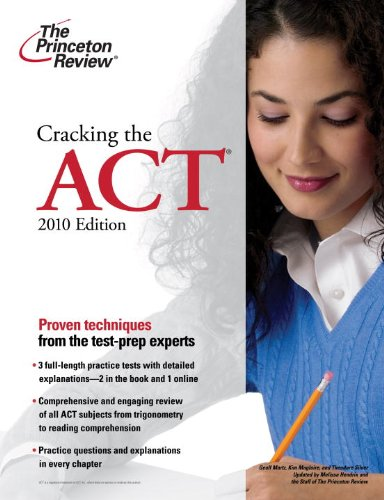 Cracking the ACT 9780375429620