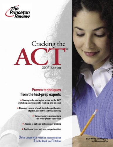 Cracking the ACT 9780375765858