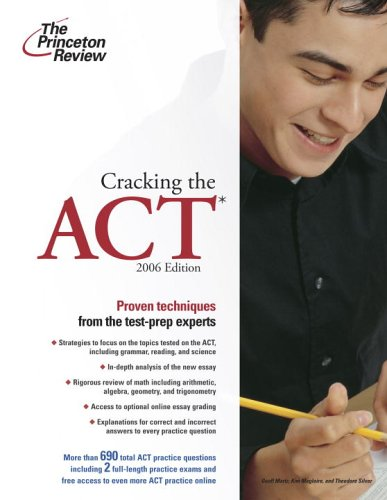 Cracking the ACT 9780375765230