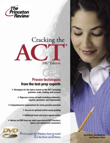 Cracking the ACT [With DVD] 9780375765865