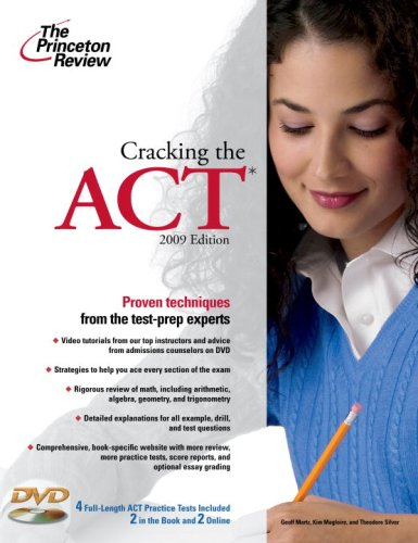 Cracking the ACT [With DVD] 9780375429002