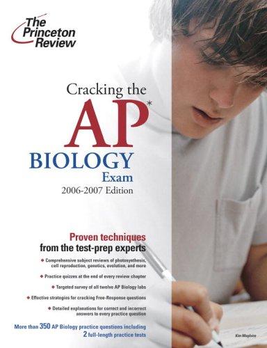 Cracking the AP Biology Exam 9780375765254